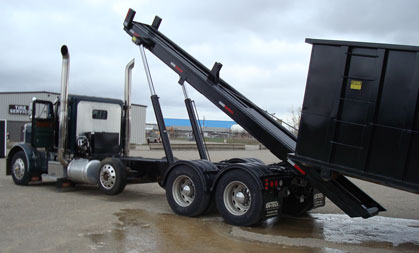 On-Trux Tri-Axle Roll-Off System